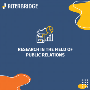 research in the field of public relations